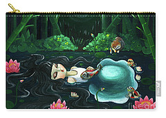 A Girl Of The Night Carry-all Pouch