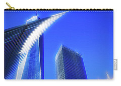 A Glimpse Of The Oculus - New York's Financial District Carry-all Pouch
