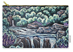 A Glimpse Of Time Carry-all Pouch by Cheryl Pettigrew