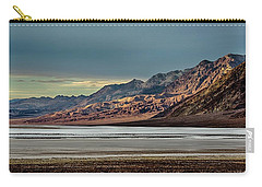 A Glow On The Amargosa Range Carry-all Pouch