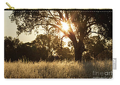 Carry-all Pouch featuring the photograph A Golden Afternoon by Linda Lees