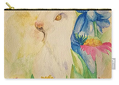 A Golden Day's Glory Carry-all Pouch by Maria Urso