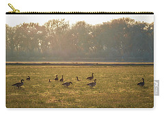 A Golden Dream Of Geese Carry-all Pouch