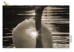 Carry-all Pouch featuring the photograph A Golden Moment by Rose-Maries Pictures
