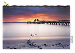 Carry-all Pouch featuring the photograph A Good Morning by Edward Kreis