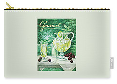 A Gourmet Cover Of Glassware Carry-all Pouch