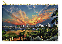 A Great Day In Salinas, Ecuador Carry-all Pouch