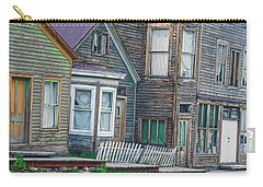 A Haimish Abode From A Bygone Era Carry-all Pouch