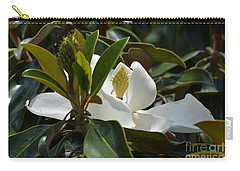 Carry-all Pouch featuring the photograph A Hidden Beauty by Maria Urso