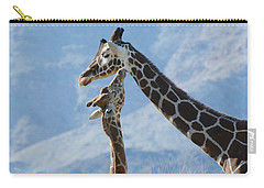 A Higher Love Carry-all Pouch by Fraida Gutovich