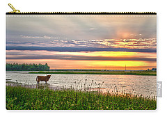 A Highland Cow In The Lowlands Carry-all Pouch