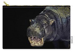 A Hippos Smile Carry-all Pouch