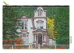 A Historical Treasure Constructed In 1870, Maxwell House, Georgetown, Colorado  Carry-all Pouch