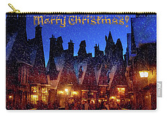 A Hogsmeade Christmas Carry-all Pouch