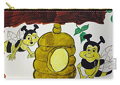 A Honey And The Bees Carry-all Pouch