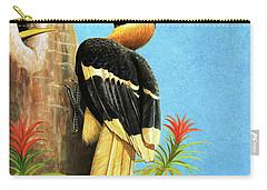 A Hornbill Carry-all Pouch