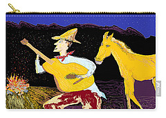 A Horse Sings Carry-all Pouch