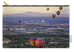 A Hot Air Ride To Albuquerque Cropped Carry-all Pouch