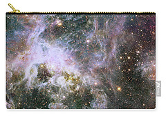 Carry-all Pouch featuring the photograph A Hubble Infrared View Of The Tarantula Nebula by Nasa