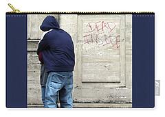 Carry-all Pouch featuring the photograph A Hug by Joe Jake Pratt
