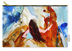 A Hula For You Carry-all Pouch by Marionette Taboniar