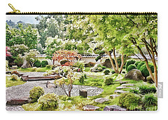 A Japanese Zen Garden Carry-all Pouch
