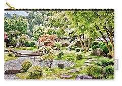 A Japanese Zen Garden Carry-all Pouch