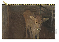 A Jersey Calf, 1893 Carry-all Pouch by John Singer Sargent