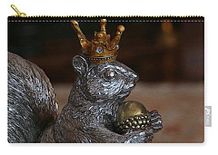 A King For A Day Carry-all Pouch by Yvonne Wright