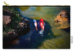 A Koi Romance Carry-all Pouch