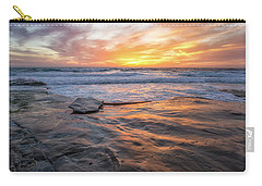 A La Jolla Sunset #2 Carry-all Pouch