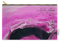 A Lifeless Planet Pink Carry-all Pouch