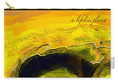 A Lifeless Planet Yellow Carry-all Pouch