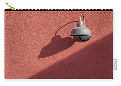 Carry-all Pouch featuring the photograph A Light Alone by Paul Wear