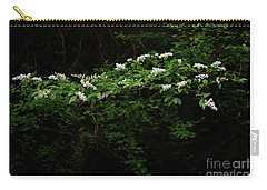 Carry-all Pouch featuring the photograph A Light In The Darkness by Skip Willits