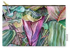 A Light In The Garden Carry-all Pouch