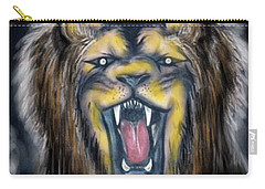 A Lion's Royalty Carry-all Pouch