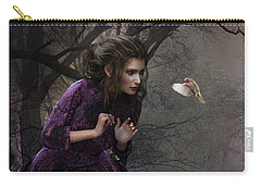 A Little Bird Told Me Carry-all Pouch by Shanina Conway