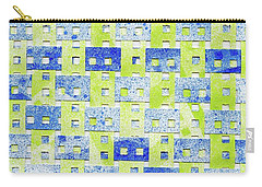 A Little Bit Of Order Carry-all Pouch by Lori Kingston