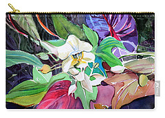 A Little Orchid Carry-all Pouch by Mindy Newman