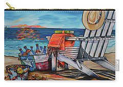 A Little Piece Of Texas Heaven Carry-all Pouch by Patti Schermerhorn