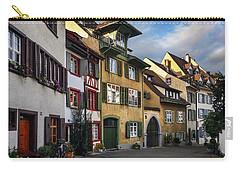 A Little Swiss Street Carry-all Pouch by Carol Japp