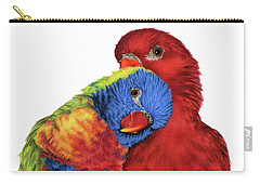Rainbow Lorikeet Carry-All Pouches