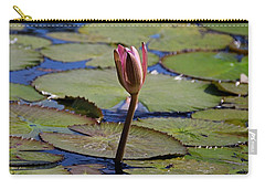 Carry-all Pouch featuring the photograph A Lonely Vigil by Michiale Schneider