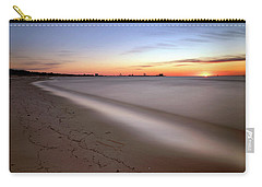 A Long Beach Sunrise - Mississippi Gulf Coast - Landscape Carry-all Pouch