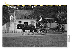 Carry-all Pouch featuring the photograph A Look Back by Eric Liller