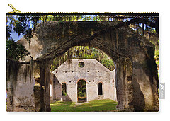 A Look Into The Chapel Of Ease St. Helena Island Beaufort Sc Carry-all Pouch