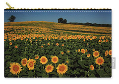 Carry-all Pouch featuring the photograph A Lot Of Birdseed  by Chris Berry