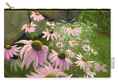 A Lovely Garden Carry-all Pouch by Karyn Robinson