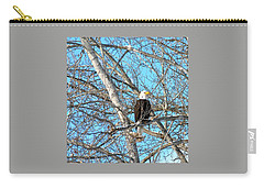Carry-all Pouch featuring the photograph A Majestic Bald Eagle by Will Borden